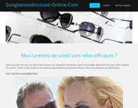 Screenshot sunglassesdiscount-online.com