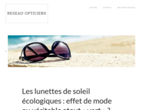 Screenshot reseau-opticiens.com